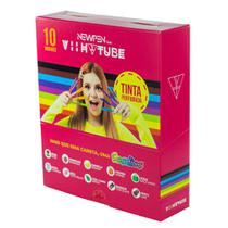 Canetas Viih Tube Newpen Perfumadas - Estojo Com 10 -