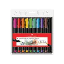 Canetinha Hidrocor 10 Cores Super Soft Faber Castell -