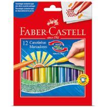 Canetinhas Vai e Vem 12 Cores Faber Castell - Faber-Castell