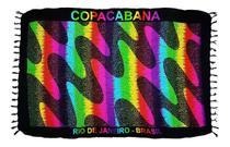 Canga De Praia Calçadão De Copacabana RJ Várias Cores e Modelos - Besakih