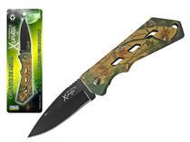 Canivete Camuflado em Aço Inox Xingú -