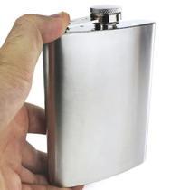 Cantil De Bolso Em Aço Inox 210ml - Clink -