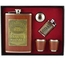 1a94999b6f Cantil de Bolso Porta Bebida Whisky Isqueiro CBRN10516 - Commerce brasil