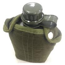Cantil de Plástico 0,9 Litros com Capa Isolante de Algodão Verde - Nautika -