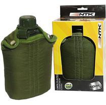 Cantil De Plástico Ntk Nautika Militar Exercito Tático 900ml Verde -