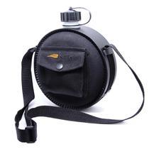 Cantil Onix NTK black com alça tira-colo, tampa com corrente e capa térmica com bolso -