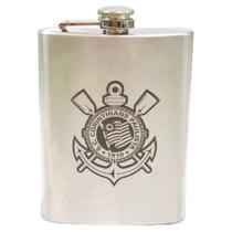 Cantil para Bebidas Corinthians Inox 220ml -