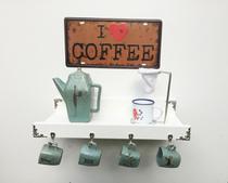 Cantinho do café pequeno com kit de instalação fred planejados -