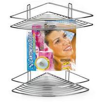 Cantoneira Duplas Para Shampoo C/ Ventosa Arthi 1504 -