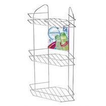 Cantoneira Tripla Para Banheiro Arthi Shampoos Condicionador -