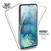 Capa 360 Graus Samsung A52 5G Capinha Case Transparente Anti Impacto Frente e Verso - Inova