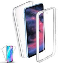 Capa 360 Graus Samsung A72 5G Capinha Case Transparente Anti Impacto Frente e Verso - Inova