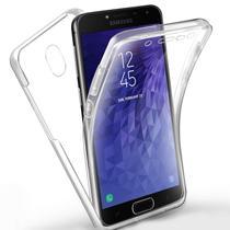ac1ea14b4aa Capa 360º Acrílico e Silicone Anti Impacto Samsung Galaxy J7 Pro  Transparente - Hrebos