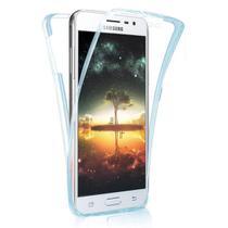 Capa 360º em Acrílico e TPU Samsung Galaxy S8 Plus - Azul - Hrebos