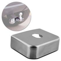 Capa Acabamento Proteção para Engate Reboque 85mm Inox Cromado Universal -