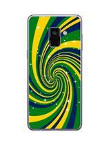 Capa Adesivo Skin360 Verso Para Samsung Galaxy A8 2018 - Kawaskin