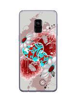 Capa Adesivo Skin363 Verso Para Samsung Galaxy A8 2018 - Kawaskin