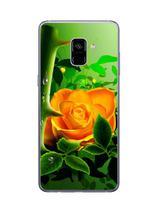Capa Adesivo Skin369 Verso Para Samsung Galaxy A8 Plus - Kawaskin