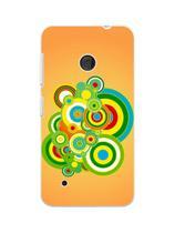 Capa Adesivo Skin370 Verso Para Nokia Lumia 530 - Kawaskin
