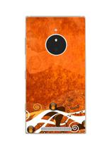 Capa Adesivo Skin371 Verso Para Nokia Lumia 830 Rm-984 - Kawaskin