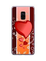 Capa Adesivo Skin372 Verso Para Samsung Galaxy A8 2018 - Kawaskin