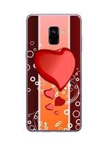 Capa Adesivo Skin372 Verso Para Samsung Galaxy A8 Plus - Kawaskin