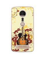 Capa Adesivo Skin373 Verso Para Motorola Moto Z Play - Kawaskin