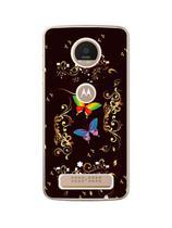 Capa Adesivo Skin375 Verso Para Motorola Moto Z Play - Kawaskin