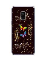 Capa Adesivo Skin375 Verso Para Samsung Galaxy A8 2018 - Kawaskin