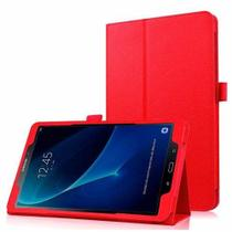 "Capa Agenda Magnética Para Tablet Samsung Galaxy Tab A 10.1"" SM-P585 / P580 + Película de Vidro - Lka"