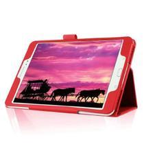 "Capa Agenda Magnética Para Tablet Samsung Galaxy Tab S2 8"" SM- T710 / T713 / T715 / T719 - Lka"