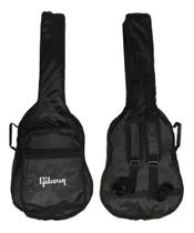 Capa Almofadada Para Violão Impermeável Cargo Gibson -