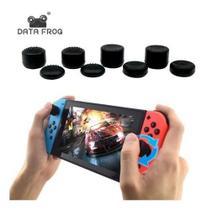 Capa Analógico Nintendo Switch Grip Com 8 Peças -