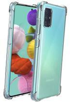 Capa Anti Impacto Antishock Samsung Galaxy A71 Transparente - HREBOS