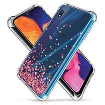 Capa Anti Impacto Chuva de Corações Para Samsung Galaxy M10/A10 Full Cover - Sky Dreams Eletronics