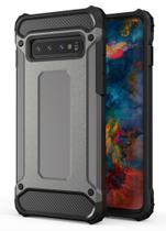 Capa anti-impacto Hybrid Rugged para Samsung Galaxy S10E - Preta - H'Maston