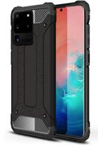 Capa Anti-impacto Hybrid Rugged para Samsung Galaxy S20 Ultra - Preta - H'Maston