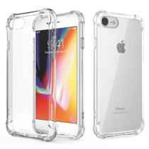 Capa Anti Impacto iPhone 7/8 Transparente Com Bordas Reforçadas - Hrebos