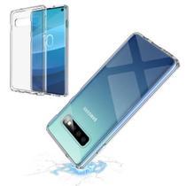 Capa Anti Impacto Para Samsung Galaxy S10 Transparente - Hrebos