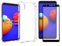 Capa Anti Impacto Samsung Galaxy A01 Core + Pelicula Vidro 3d - CK