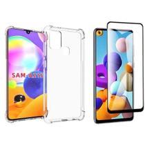 Capa Anti Impacto Samsung Galaxy A21S + Película de Vidro 3D - Renew