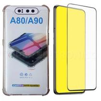 Capa Anti Impacto Samsung Galaxy A80 A90 + Pel de Gel 5D - H Maston