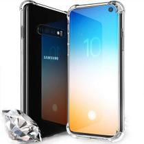 Capa Anti Impacto Samsung Galaxy S10 - Transparente Flexível - Encapar
