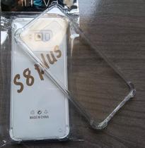 Capa Anti Impacto Transparente Para Samsung Galaxy S8 Plus + Película De Gel -