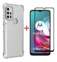 Capa Anti Impactos Motorola Moto G30 + Película Vidro 9d - POP SHOP