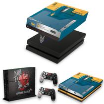 Capa Anti Poeira e Skin para PS4 Fat - Cyberpunk 2077 Bundle - Pop Arte Skins