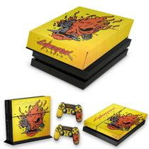 Capa Anti Poeira e Skin para PS4 Fat - Cyberpunk 2077 - Pop Arte Skins