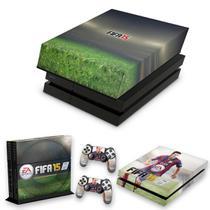 Capa Anti Poeira e Skin para PS4 Fat - Fifa 15 - Pop Arte Skins