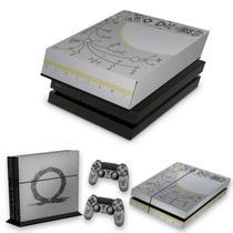 Capa Anti Poeira e Skin para PS4 Fat - God Of War Limited Edition - Pop Arte Skins
