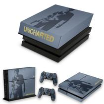 Capa Anti Poeira e Skin para PS4 Fat - Uncharted 4 Limited Edition - Pop Arte Skins